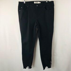 Torrid black denim jeans SZ:16 NWT